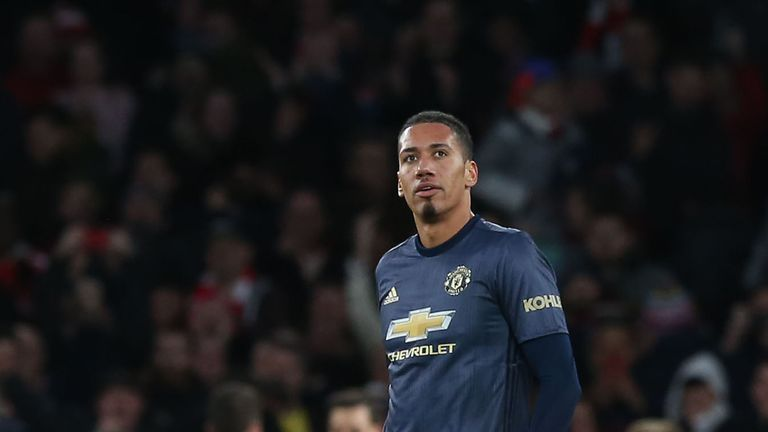 Chris Smalling has relished playing against big-name opponents and is looking forward to facing Messi