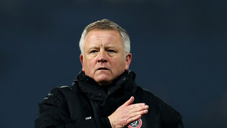 Chris Wilder has led Sheffield United into second place
