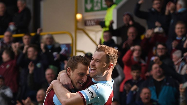Chris Wood and Ashley Barnes both signed new Burnley contracts this week