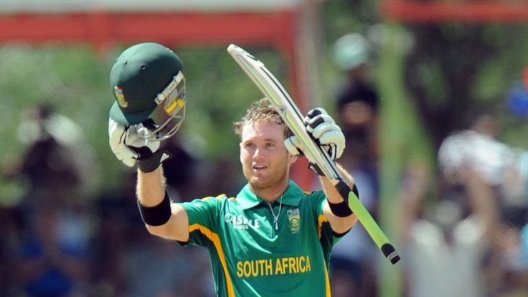 Ingram scored three centuries and three fifties for South Africa in 31 ODIs