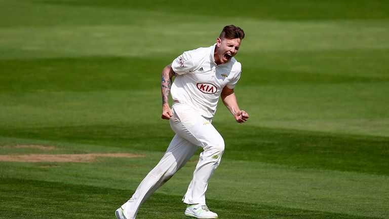 during day three of the Specsavers County Championship Division One match between Surrey and Nottinghamshire at The Kia Oval on August 31, 2018 in London, England.