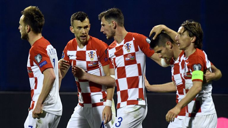 Croatia were made to sweat by Azerbaijan in their Euro 2020 Qualifier
