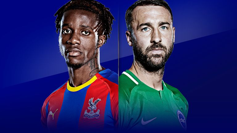 Crystal Palace vs Brighton is live on Sky Sports on Saturday