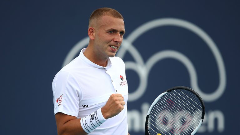 British duo Dan Evans and Jay Clarke into final round of qualifying at Miami Open