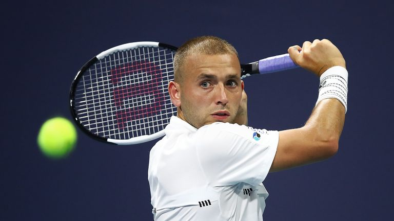 Dan Evans made the most of his lucky loser spot