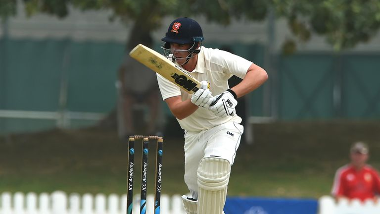 Dan Lawrence struck a half-century for MCC in the Champion County match against Surrey in Dubai in March