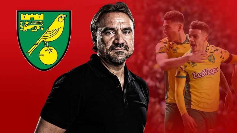 Daniel Farke has blooded youth at Norwich as well as bringing in foreign talent