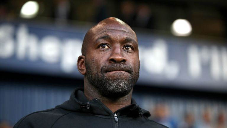 West Bromwich Albion manager Darren Moore during the Carabao Cup, First Round match at The Hawthorns
