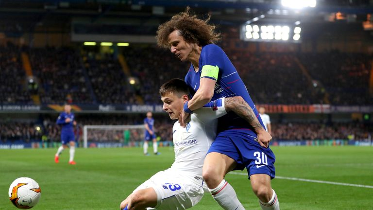 David Luiz was the game's outstanding player