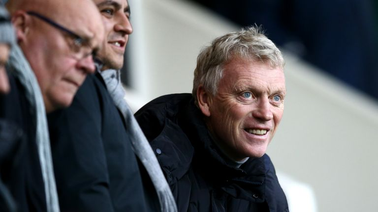 Former Everton and Manchester United boss David Moyes is the special guest ahead of the Merseyside derby