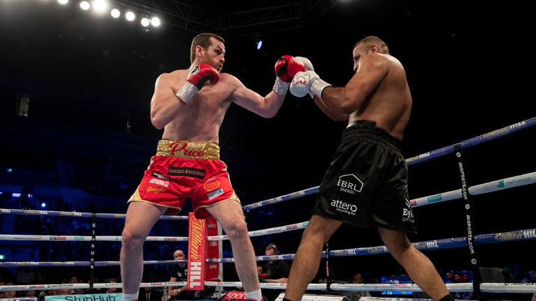 British boxer Kash Ali disqualified after biting opponent during heavyweight bout
