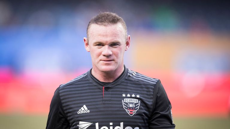 Rooney scored a hat-trick in DC United's 5-0 win over Real Salt Lake