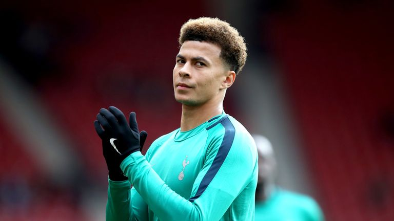 Dele Alli is a doubt for Wednesday night's game