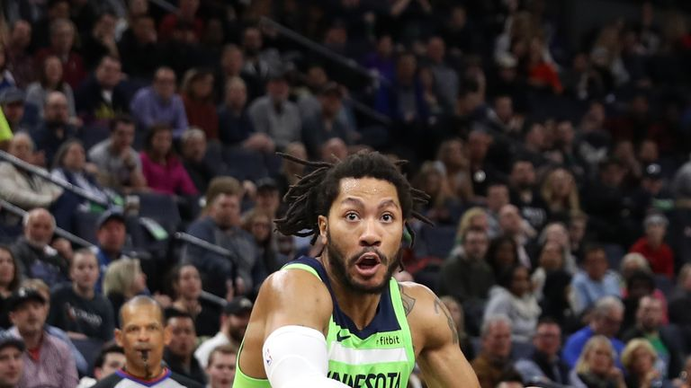 Minnesota Timberwolves trio Derrick Rose, Jeff Teague and Robert Covington ruled out for rest of season | NBA News |