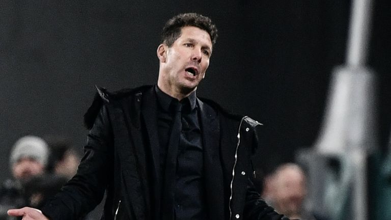 Diego Simeone's Atletico have been knocked out of the Champions League by a side containing Cristiano Ronaldo in five of the last six seasons
