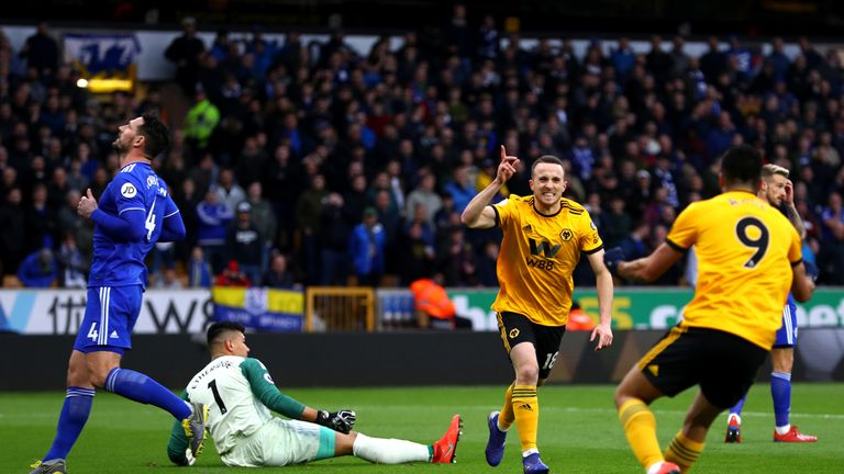 Jota opened the scoring after 16 minutes