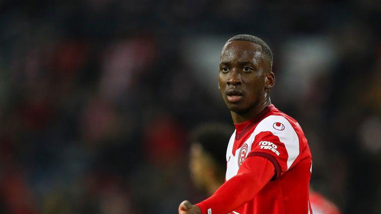 Dodi Lukebakio has been on loan at Fortuna Dusseldorf from Watford