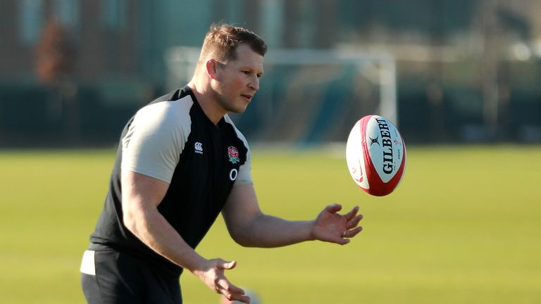 Dylan Hartley missed the Six Nations with a knee injury
