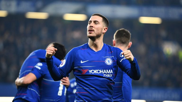 Eden Hazard puts Real Madrid transfer talk on hold - for now ... c6ba2cf92