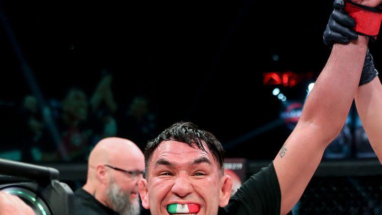 Sanchez celebrates the win