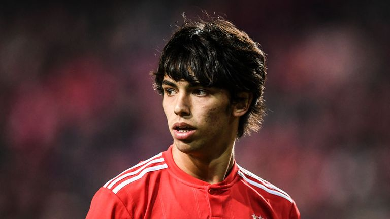 Joao Felix is being scouted by Manchester United