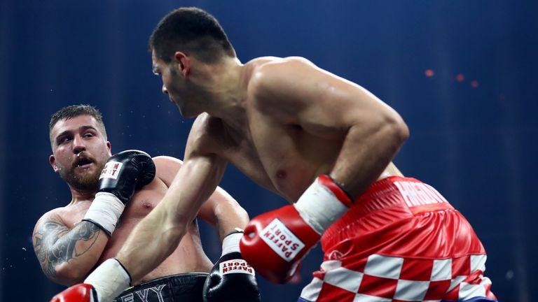 Filip Hrgovic defeated Ireland's Sean Turner in Zagreb