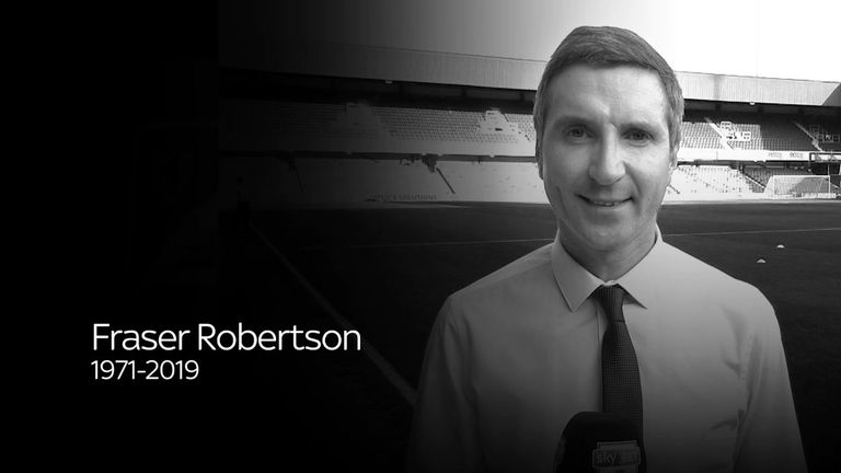 Obit picture of Fraser Robertson