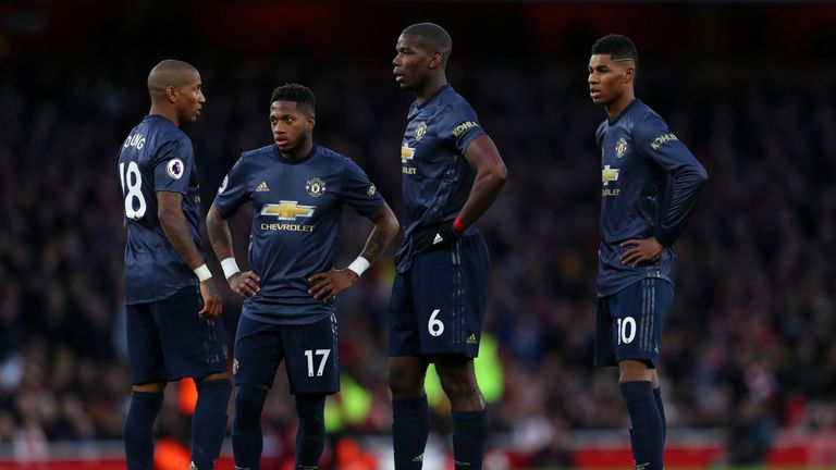 Paul Pogba and Fred were off the pace in United's defeat, according to Graeme Souness