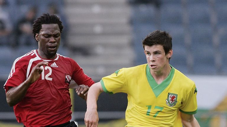 Flashback  When Gareth Bale made his Wales debut against Trinidad ... 7b250053c