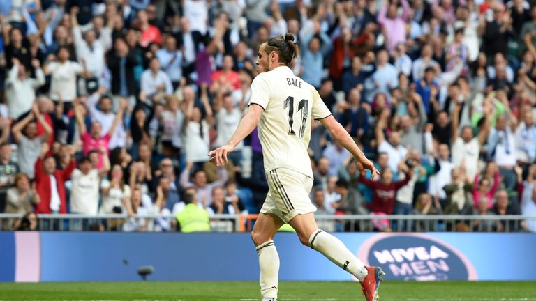 Gareth Bale put in a man-of-the-match display for Real Madrid at the Bernabeu