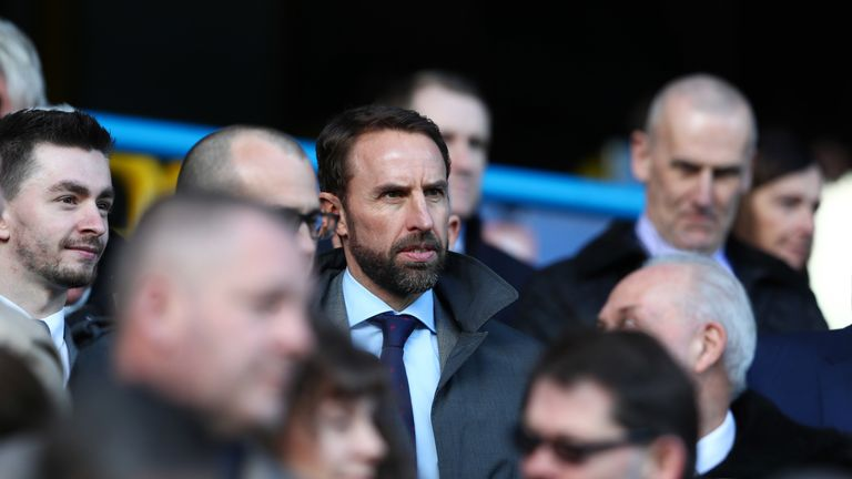 Gareth Southgate watched Bournemouth beat Huddersfield on Saturday