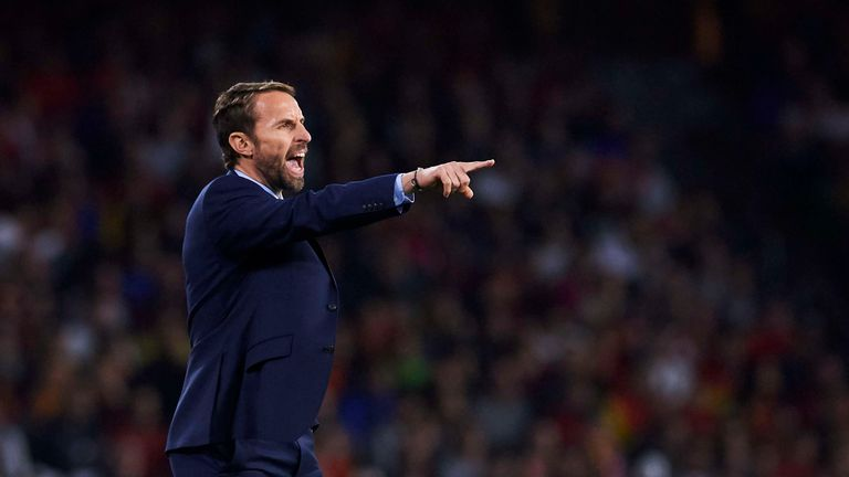 Southgate unveiled his 27-man Nations League squad on Thursday