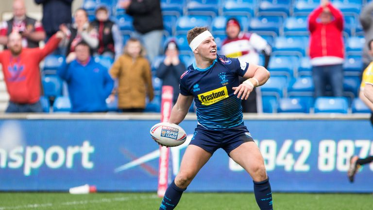 George Williams' much-improved personal form has seen Wigan back to winning ways recently