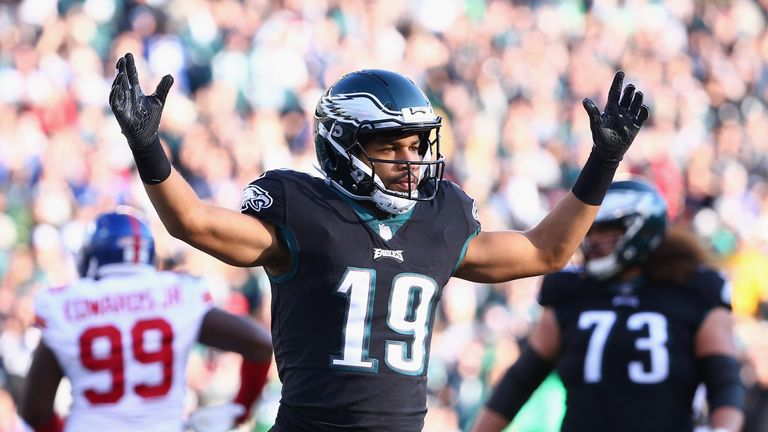 Golden Tate is staying in the NFC East with the New York Giants