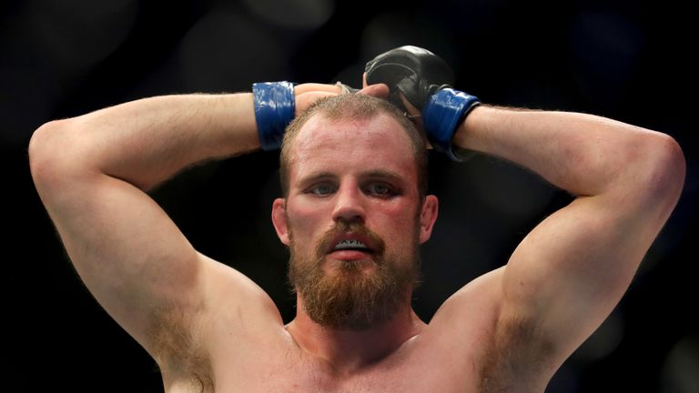Gunnar Nelson lost to Edwards on a split decision