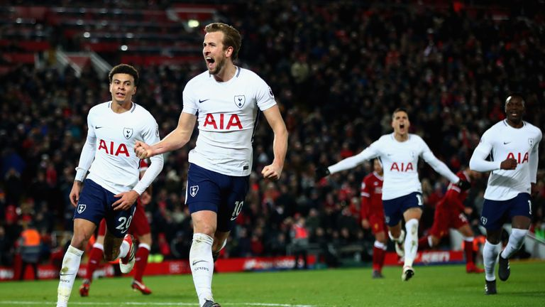 The last time Tottenham played at Anfield, Harry Kane scored a last-gasp penalty to draw 2-2.