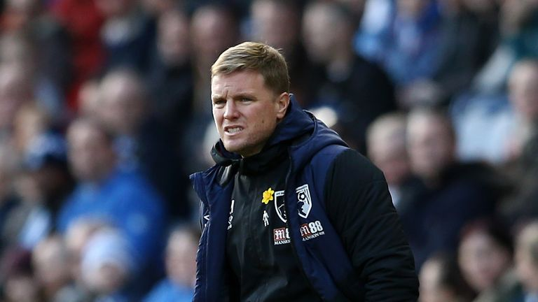 Eddie Howe says Bournemouth are still not an established Premier League side