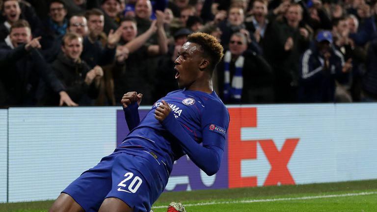 Hudson-Odoi has started eight matches for Chelsea this season, but none have been in the Premier League