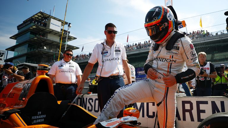 McLaren CEO Zak Brown is excited that Sky Sports will show every round of the 2019 IndyCar Series. Can Fernando Alonso win the world-famous Indianapolis 500?