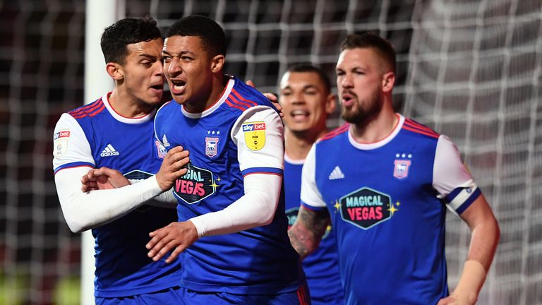 Ipswich are favourites to be relegated from the Championship