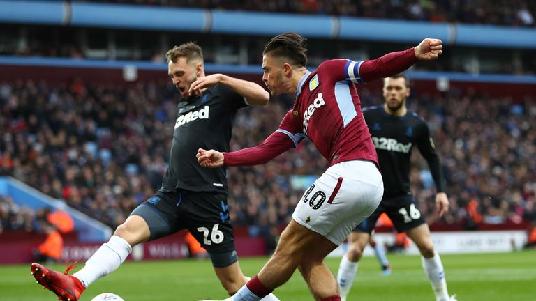 Jack Grealish proved to be a pivotal figure in Villa's comprehensive victory at Villa Park