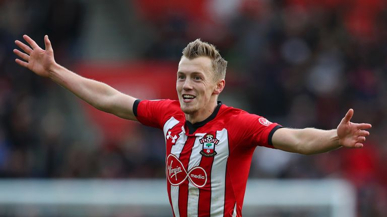 James Ward-Prowse has been called into the England squad