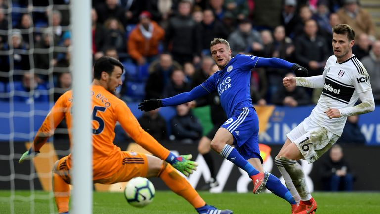 Jamie Vardy's double against Fulham last time out consigned them to Parker's second defeat from as many games since taking charge