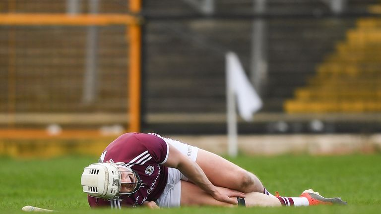 Joe Canning was forced off during last weekend's clash with Waterford