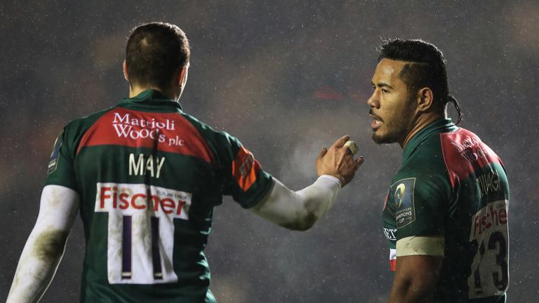 e484b3ec2 Jonny May and Manu Tuilagi are both starting for Leicester Tigers in Round  17