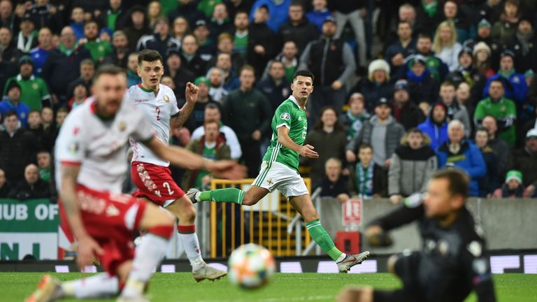 Late Goal Puts NI Top Of Euro 2020 Qualifying Group