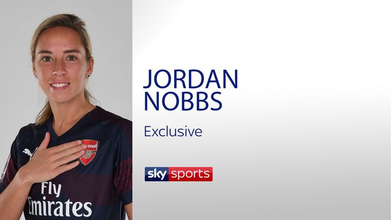 Exclusive interview with Arsenal and England player Jordan Nobbs
