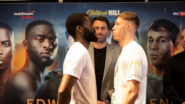 The unbeaten 26-year-old faces Liam Conroy at the Copper Box Arena