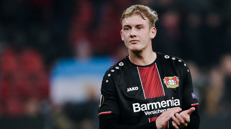 Borussia Dortmund are interested in signing Bayer Leverkusen striker Julian Brandt
