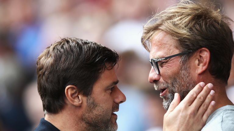 during the Premier League match between Tottenham Hotspur and Liverpool at White Hart Lane on August 27, 2016 in London, England.